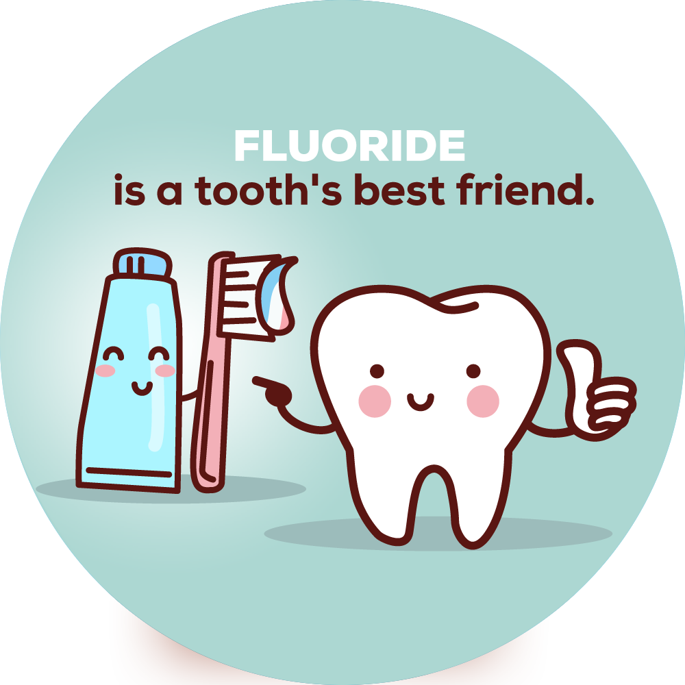 Fluoride Is a Tooth's Best Friend